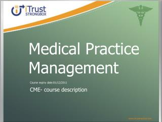 CME- course description