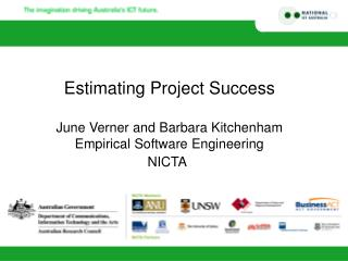 Estimating Project Success