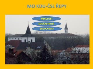 MO KDU-ČSL ŘEPY