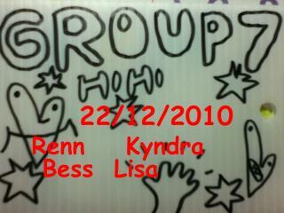22/12/2010 Renn    Kyndra    Bess  Lisa