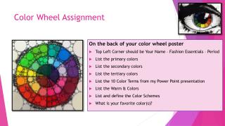 Color Wheel Assignment