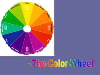The Color Wheel