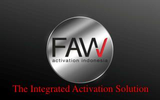 The Integrated Activation Solution