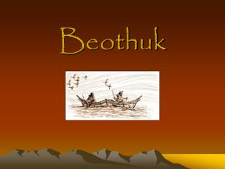 Beothuk