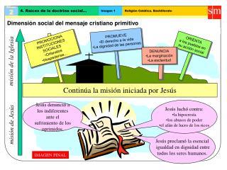 Dimensión social del mensaje cristiano primitivo