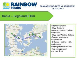 Dania �  Legoland  6 Dni