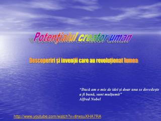 Potenţialul creator uman