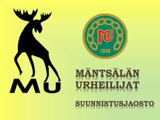 Mäntsälän Urheilijat Suunnistusjaosto