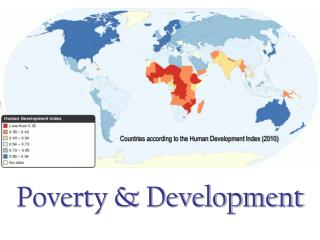 Poverty & Development