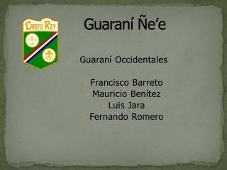 Guaraní Ñe'e