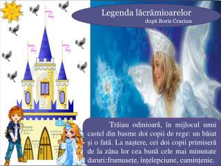 Legenda lăcrămioarelor după Boris Craciun
