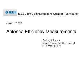 Andrey Gleener Andrey Gleener R&D Services Ltd. a8421@intergate