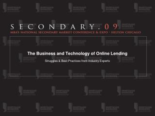 The Business and Technology of Online Lending
