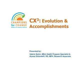 CX 3 : Evolution & Accomplishments