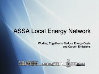 ASSA Local Energy Network