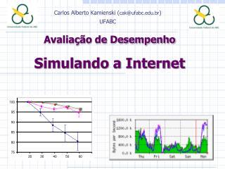 Avaliação de Desempenho  Simulando a Internet