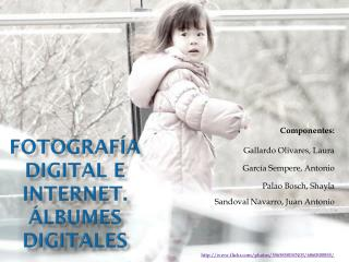FOTOGRAFÍA DIGITAL E INTERNET. ÁLBUMES DIGITALES