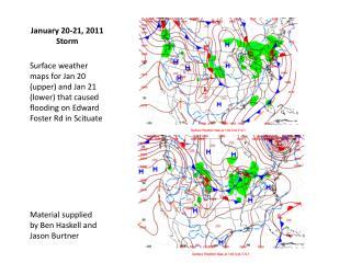 January 20-21, 2011 Storm