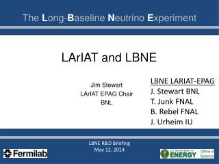 LArIAT  and LBNE