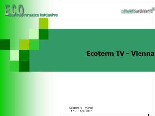 Ecoterm IV - Vienna