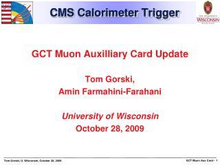 CMS Calorimeter Trigger