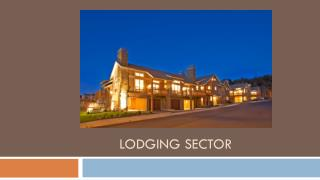 Lodging sector