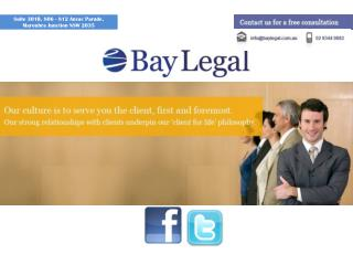 Well Experienced Commercial Lawyer Sydney