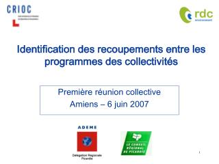 Identification des recoupements entre les programmes des collectivités