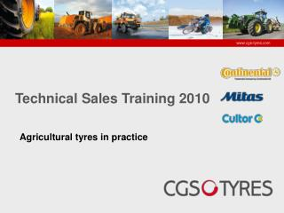 Agricultural  tyres in  practice