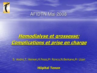 AFIDTN Mai 2008