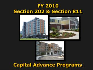 FY 2010 Section 202 & Section 811