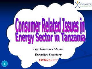 Consumer Related Issues in
