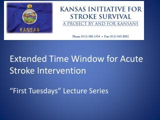 Medical Management of Acute Ischemic Stroke: Evidence Based Guidelines