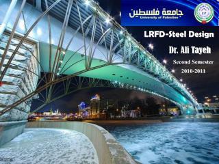 LRFD- Steel Design