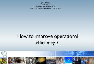 How to improve operational efficiency  ?