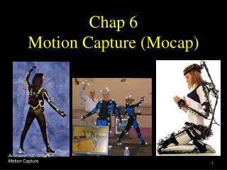 Chap 6 Motion Capture (Mocap)