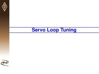 Motor[x].Servo.Kp Proportional Gain (K p ) Motor[x].Servo.Kvfb Derivative Gain (K d )