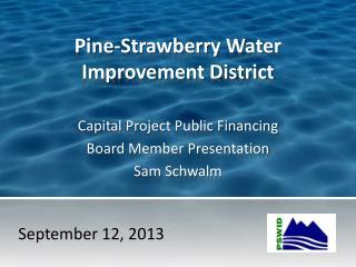 Pine-Strawberry Water Improvement District