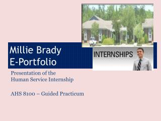 Millie Brady  E-Portfolio