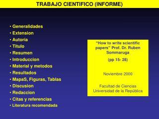 TRABAJO CIENTIFICO (INFORME)