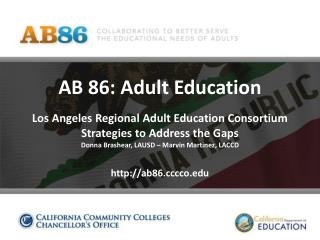 Los Angeles Regional Adult Education Consortium