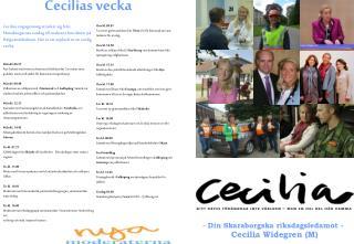 Cecilias vecka