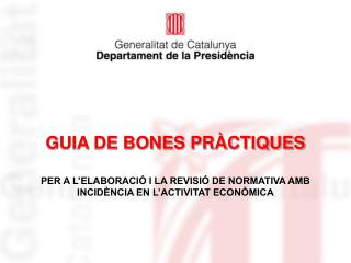 GUIA DE BONES PR CTIQUES