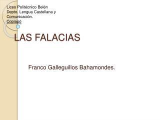 LAS FALACIAS