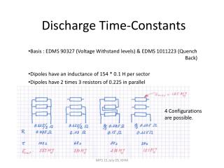 Discharge Time-Constants