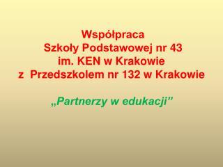 Cele współpracy: