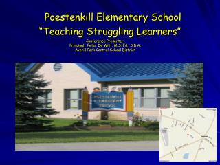 "Poestenkill Elementary School ""Teaching Struggling Learners"""