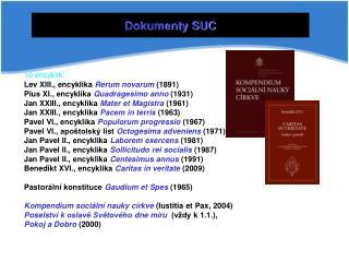 Dokumenty SUC