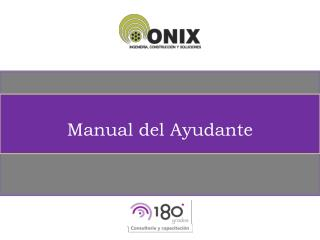 Manual del Ayudante