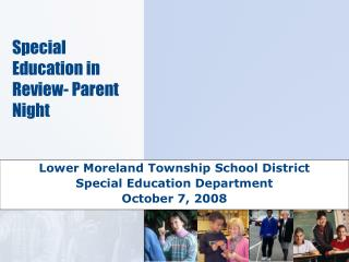 Special Education in Review- Parent Night